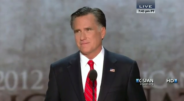 Video: Full Mitt Romney Acceptance Speech