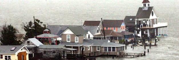 SANDY STRUCK VET DENIED HELP BY OBAMA'S FEMA