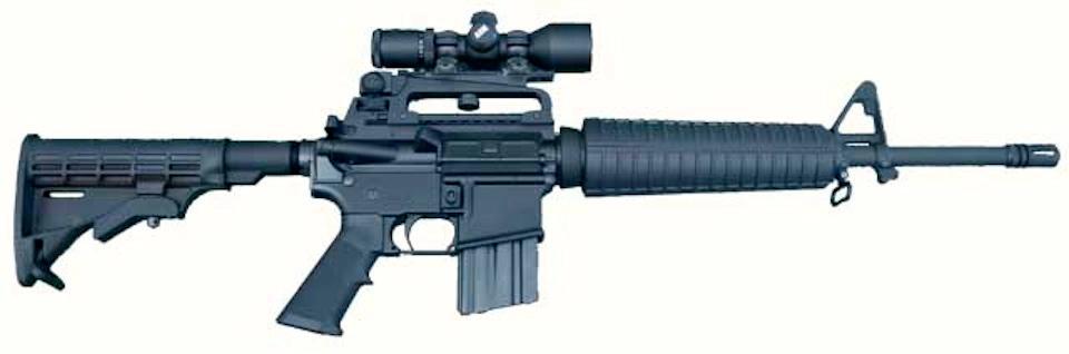 The Evil AR-15