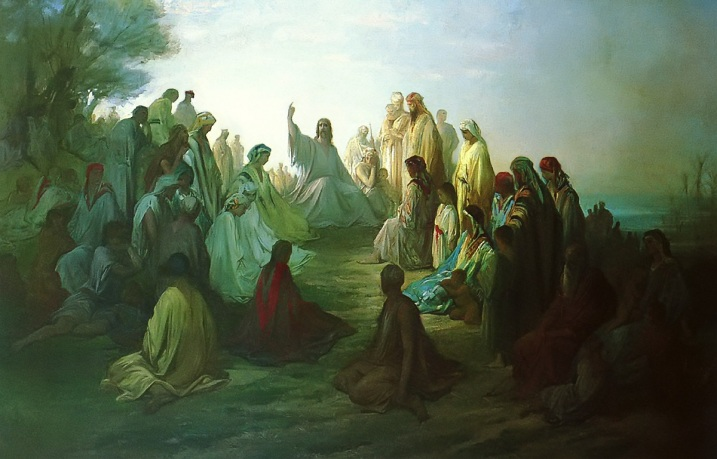 jesus_preaching_sermon_on_the_mount_gustave_dore