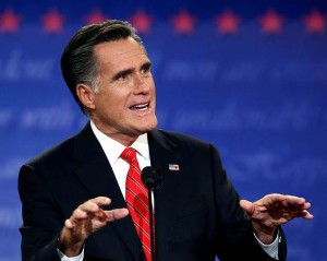 Mitt Romney at 1st debate