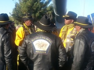 AZ WWII Memorial Buffalo Soldiers