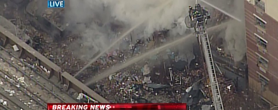 BREAKING: Explosion Collapses 2 Buildings in New York (Updated)