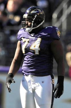 Raven DL Michael Oher