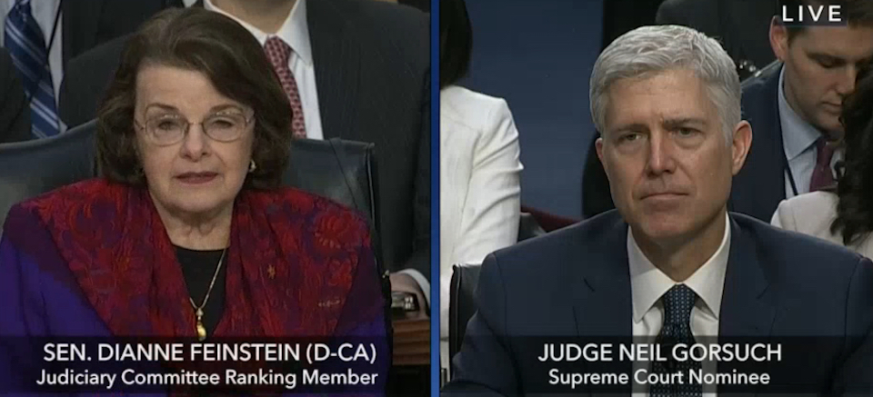 According to the Boorish Dems, What Are Judge Neil Gorsuch's Sins?