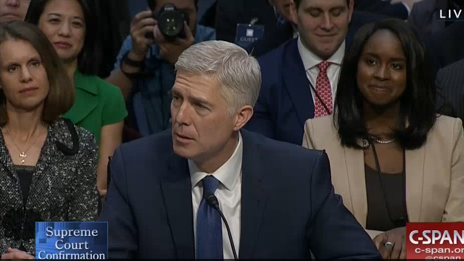 Judge Neil Gorsuch's Winsome Confirmation Hearing Opening Statement (Video)