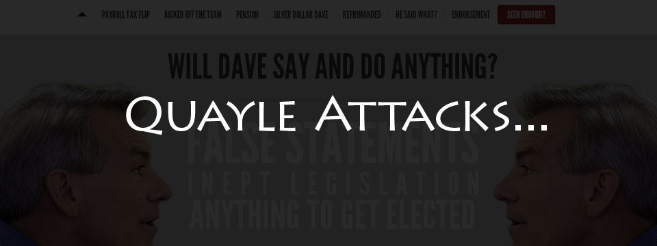 My Take on the Quayle Attack Website