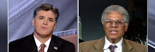 Sean Hannity talks to Dr. Thomas Sowell