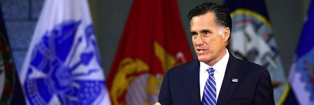 Mitt Romney 10/8/12 Foreign Policy Speech at VMI (Text)