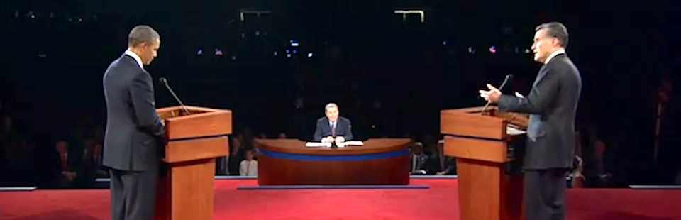 The First 2012 Presidential Debate from Denver (Part 1)